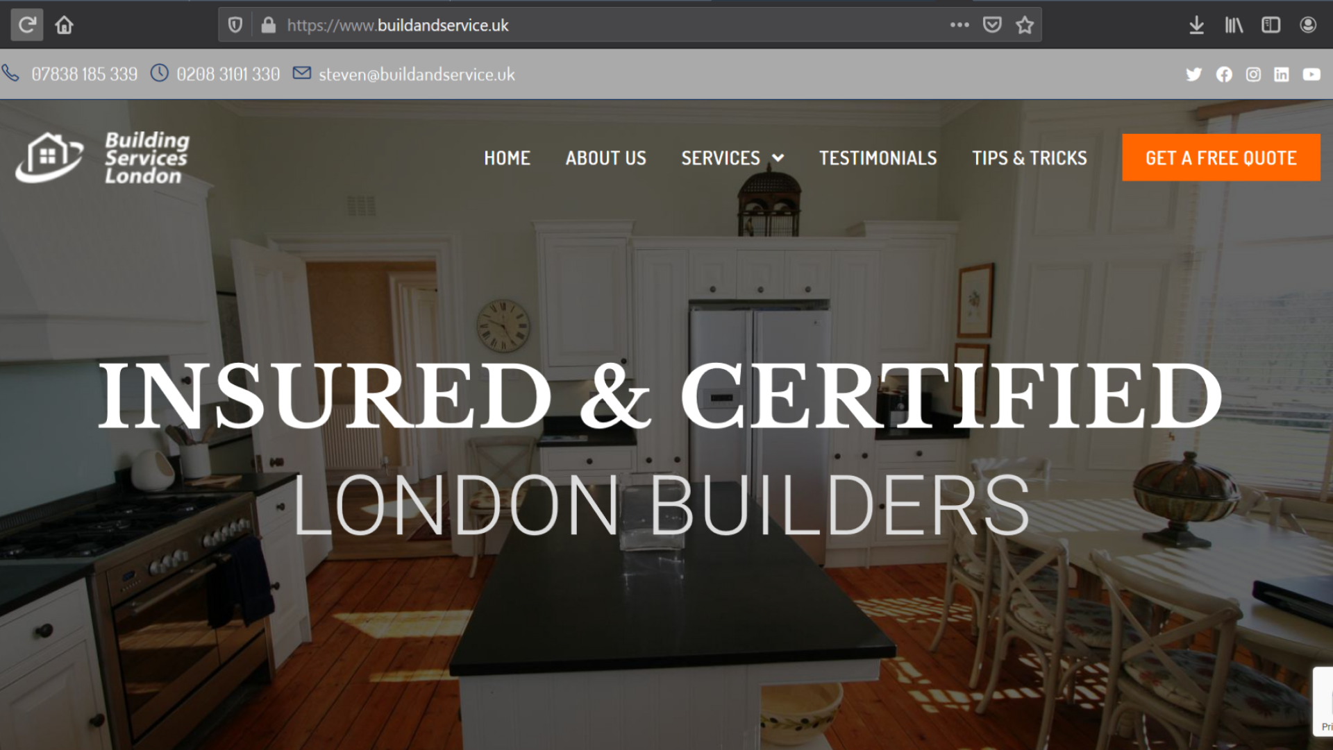 london-builders-website